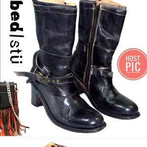 Bed Stu Bloomberg buckle boots